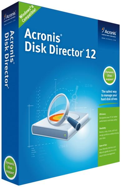 Acronis Disk Director 12 Build 12.0.3270 | 2017 | PC