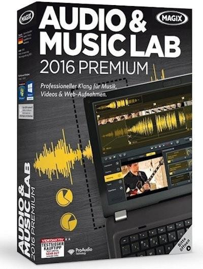 MAGIX Audio & Music Lab 2016 Premium 21.0.1.28 (2015) PC