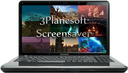 3Planesoft 3D Screensavers 1.2.0.12 - 10 Screensavers [01] (2015) PC | Portable by Spirit Summer