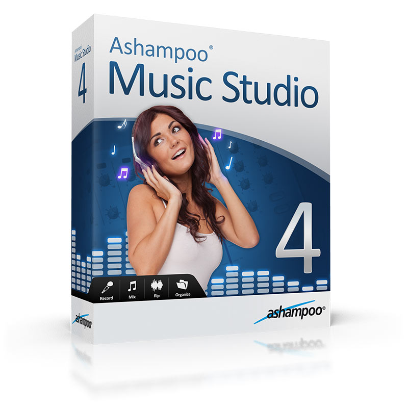 Ashampoo Music Studio 4 4.0.1 Portable