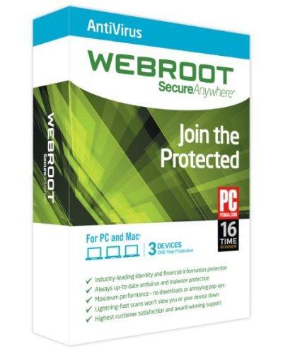 Webroot SecureAnywhere AntiVirus 9.0.2.21 ������� ������ �� 90 ����