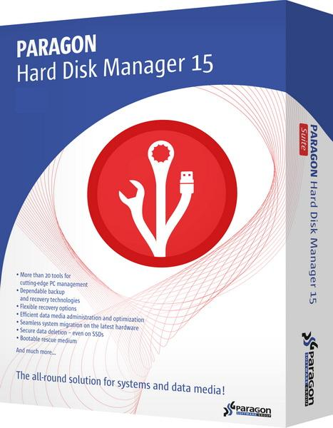 Paragon Hard Disk Manager 15 Pro 10.1.25.294 + BootCD