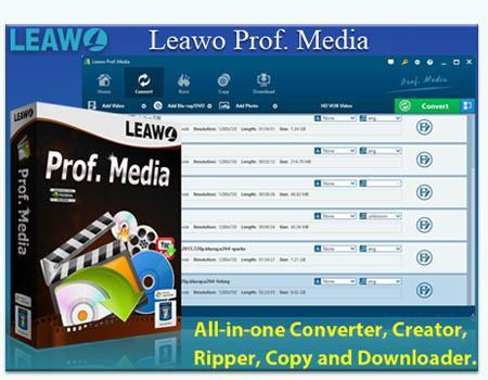 Leawo Prof. Media 7.5.0.0