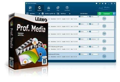 Leawo Prof. Media 7.4.4.0 (2016) | RePack by FoXtrot