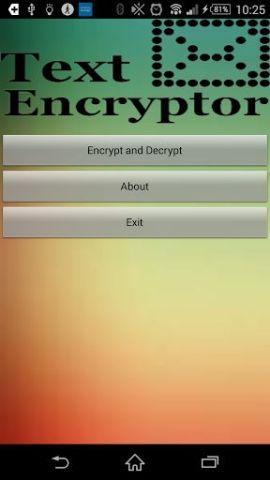 Text Encryptor 1.0