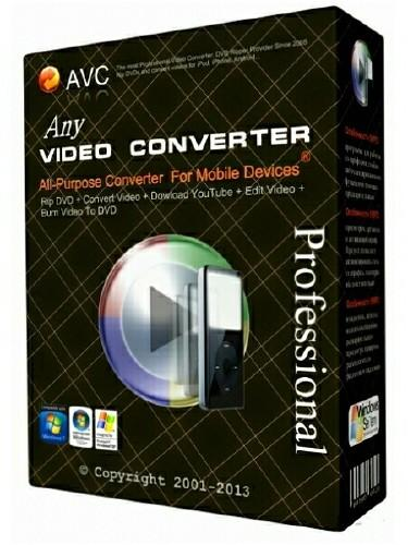 Any Video Converter Professional 5.5.8