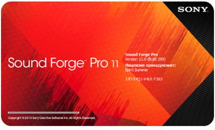 SONY Sound Forge Pro 11.0 Build 299 (2015) PC | Portable by Spirit Summer