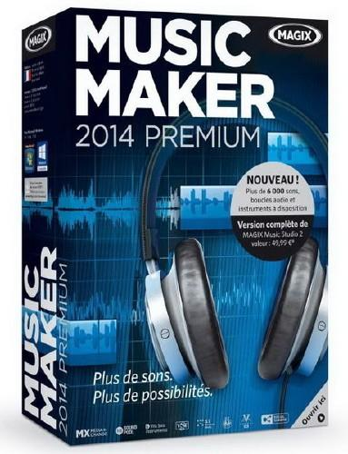 MAGIX Music Maker 2014 Premium 20 Build 0.3.45 Final + Rus