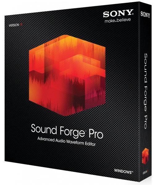 SONY Sound Forge Pro 11.0 Build 299 | 2015 | PC + Portable