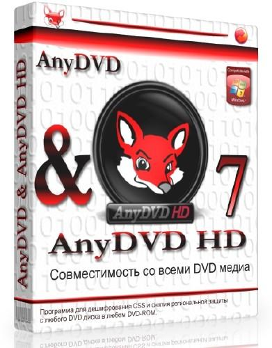 AnyDVD HD 7.5.6.0 Final (2015) РС