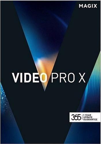 MAGIX Video Pro X8 15.0.3.138 | 2017 | РС