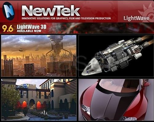 LightWave 3D v9.6 portable